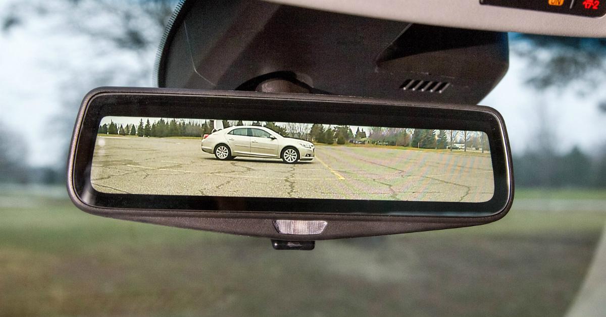 2016 Cadillac CT6 Rear View Mirror