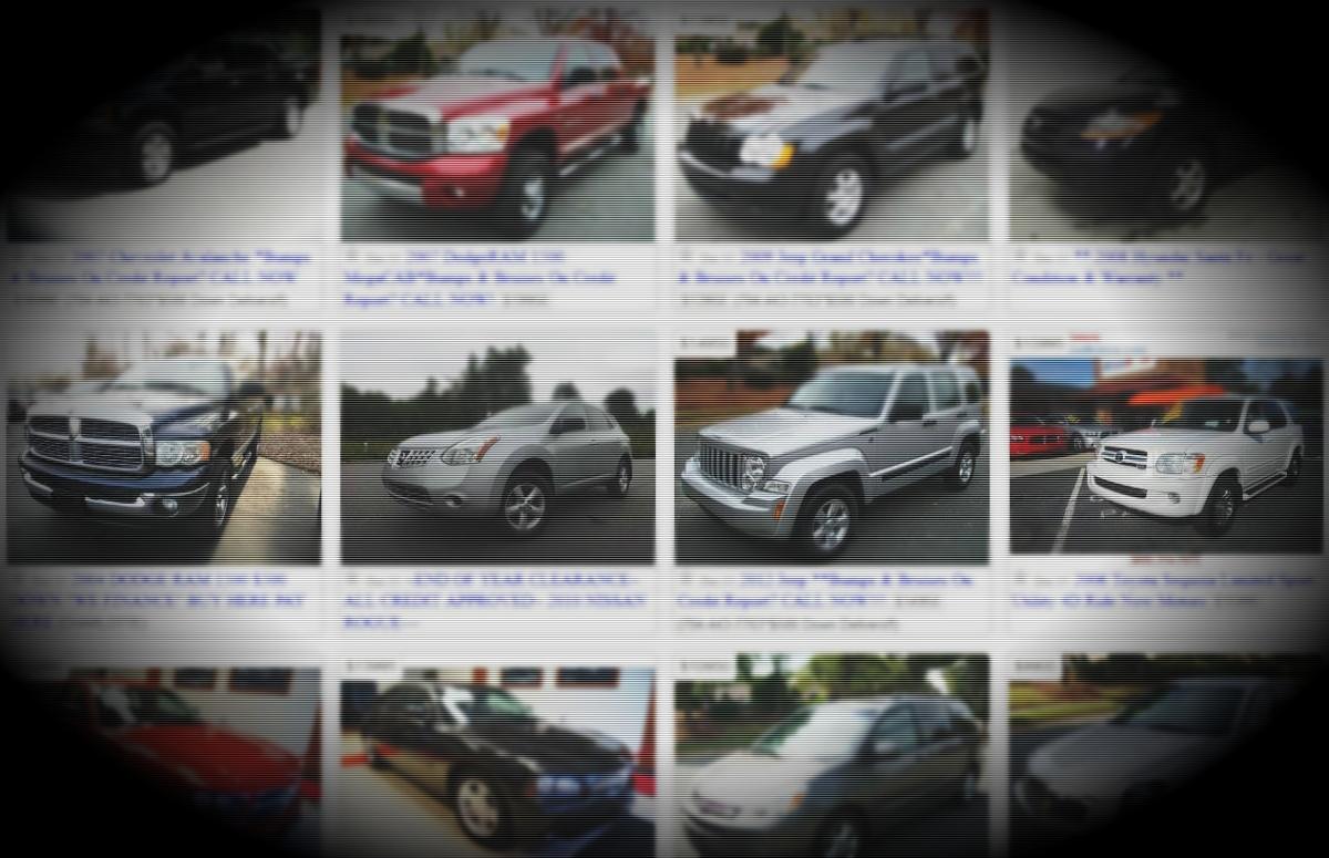 Craigslist Autos Example