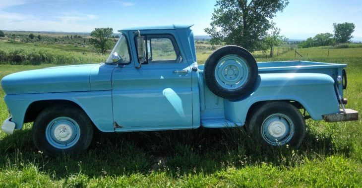 1960s GMC Pickup Blue