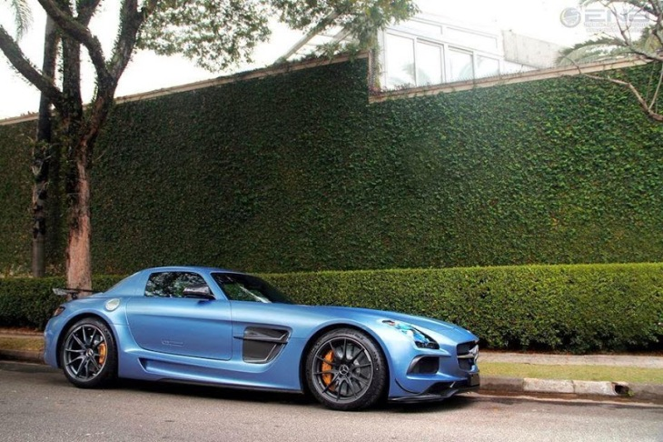 Blue SLS AMG Black Series by RGF