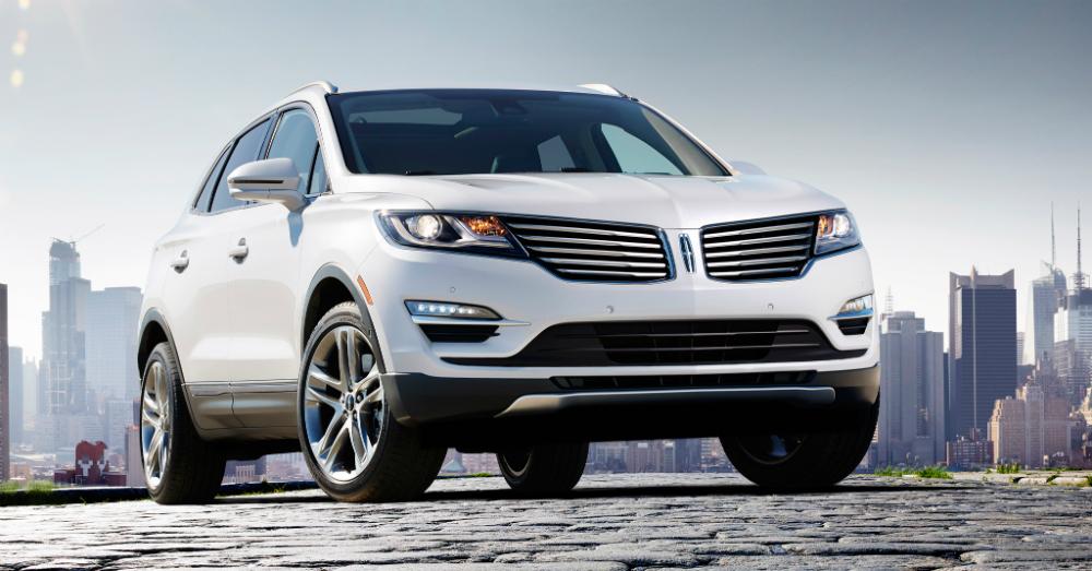 2015 Lincoln MKC White