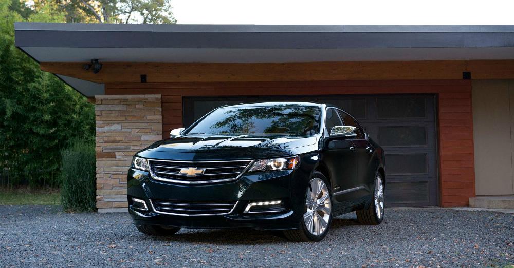 2015 Black Chevrolet Impala