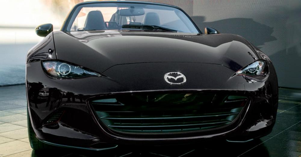 2016 Mazda MX-5 Miata Black