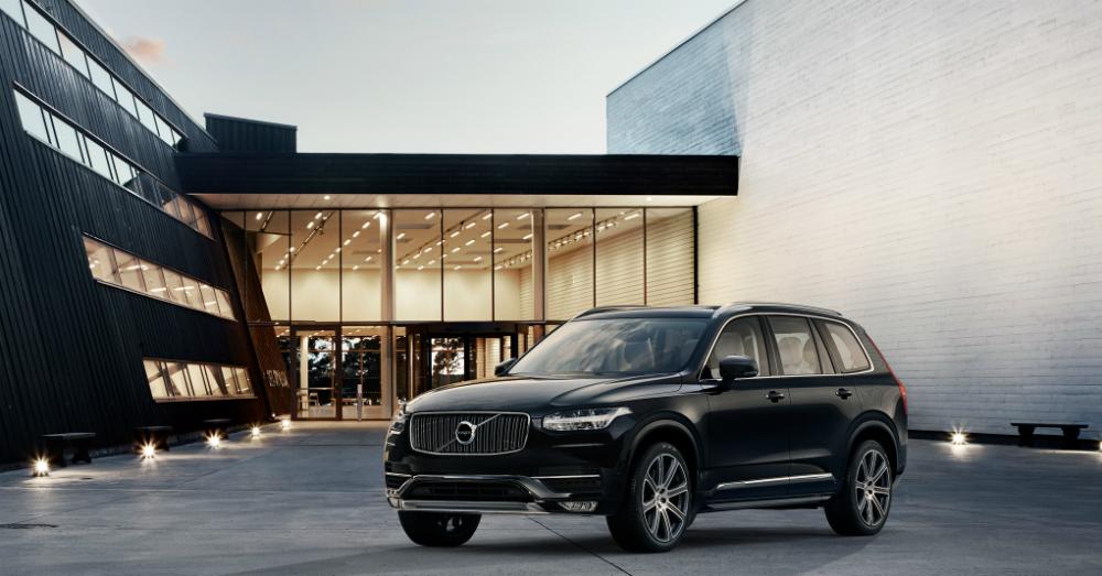 2016 Volvo xc90 Black