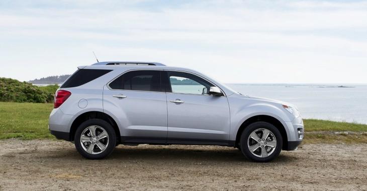 2015 Silver Chevrolet Equinox